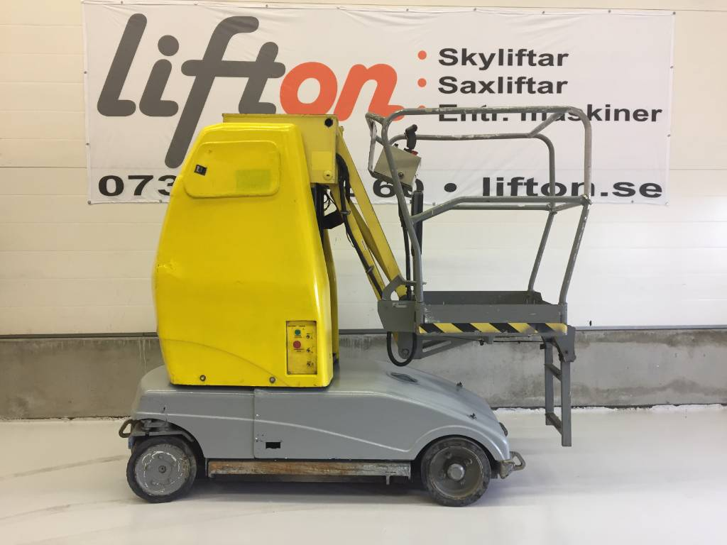 UpRight MB 20, Bomliftar, Entreprenad