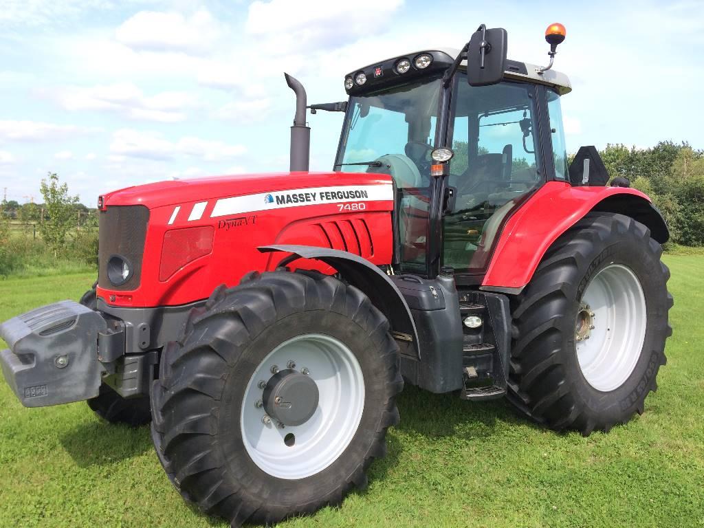 Massey Ferguson 7480 Dyna-VT T3, Tractoren, Landbouw