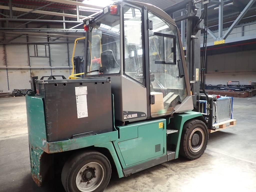 Kalmar ECF50-6, Electric forklift trucks, Material Handling