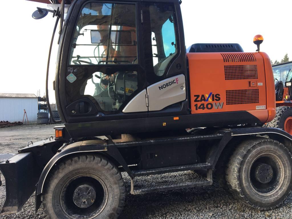 Hitachi ZX 140W-5/ Göteborg, Wheeled Excavators, Construction Equipment