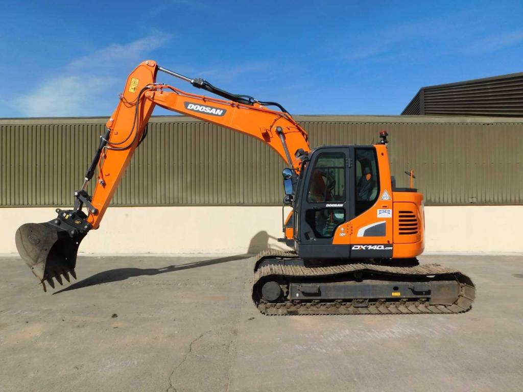 Doosan Dx140LCR-5, Crawler excavators, Construction