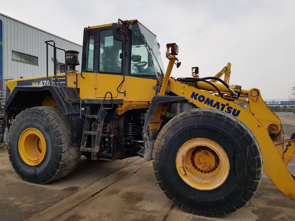 Komatsu WA470-6, Wheel Loaders, Construction Equipment