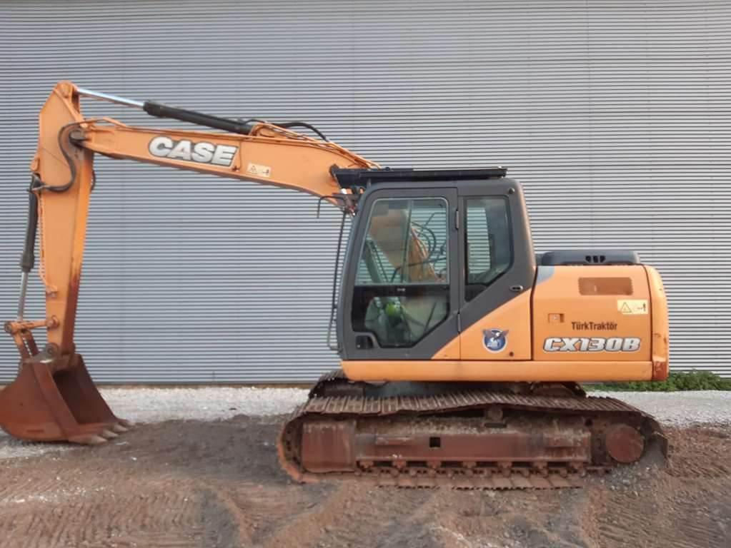 CASE CX130B, Crawler Excavators, Construction