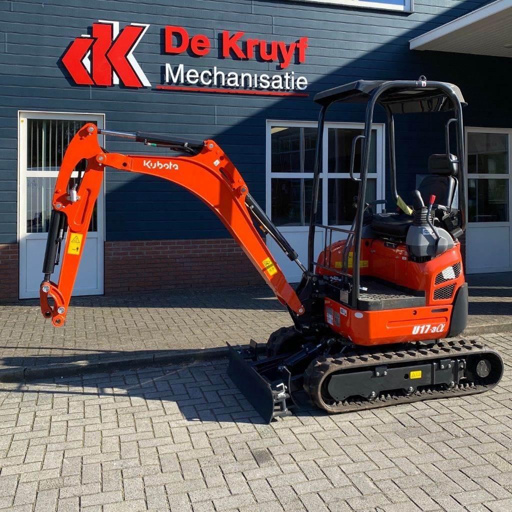Kubota U17-3 Alpha, Mini excavators, Construction