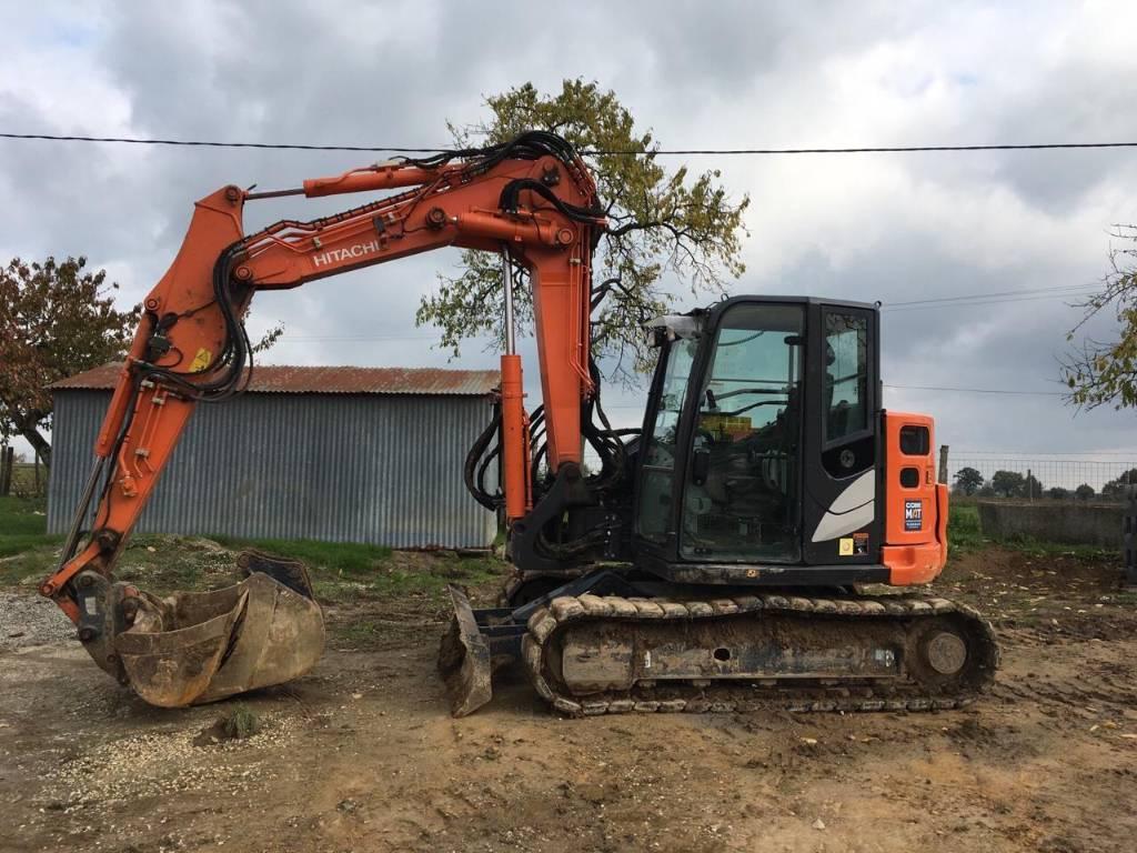 Hitachi ZX 85 US-5 A, Mini excavators  7t - 12t, Construction Equipment