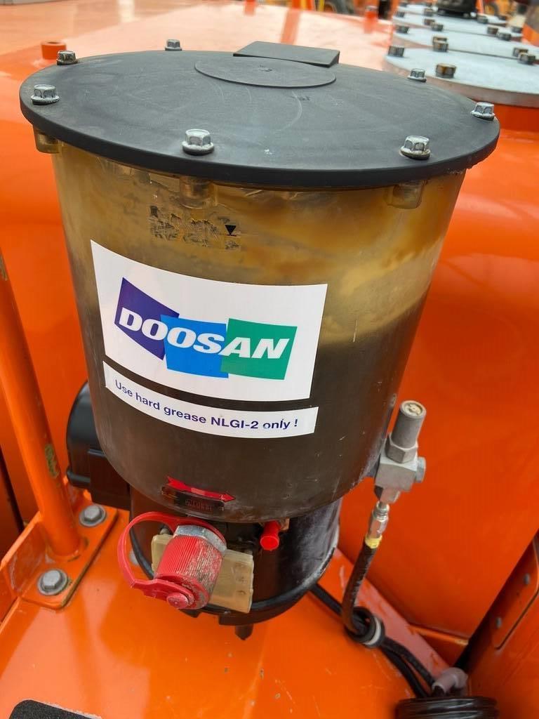 Doosan DL 420-5, Wielladers, Bouw