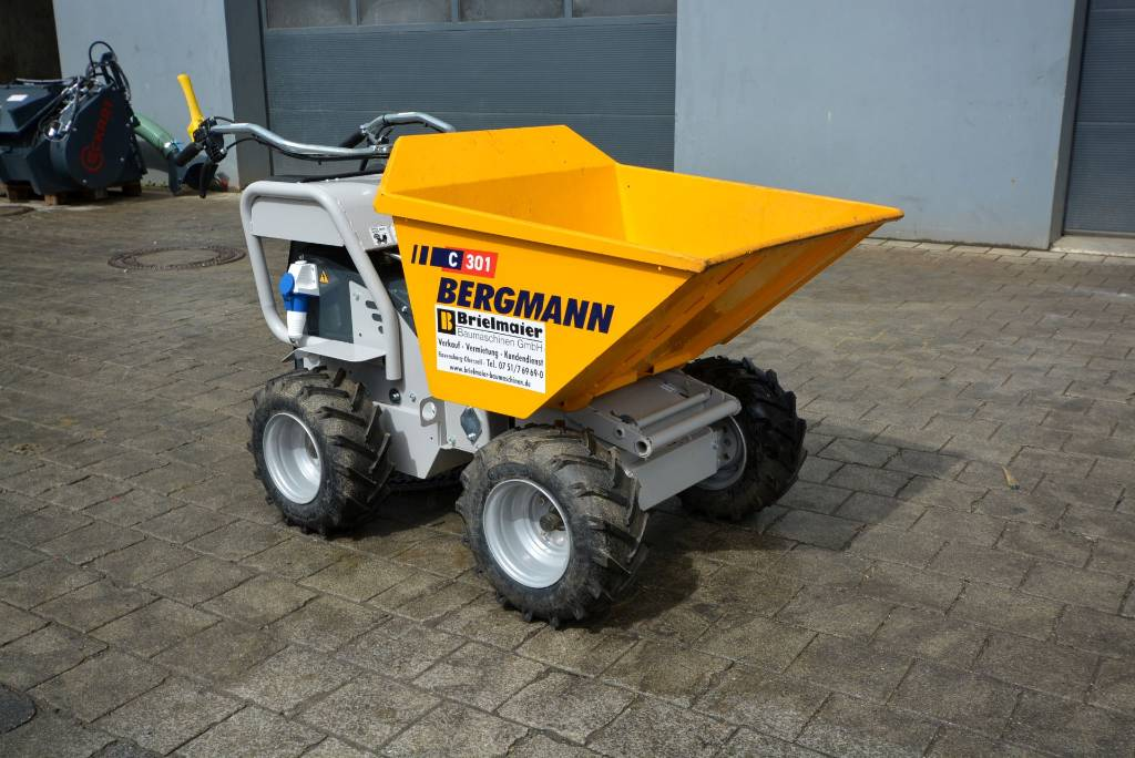 Bergmann C 301 s/A, Minidumper, Baumaschinen