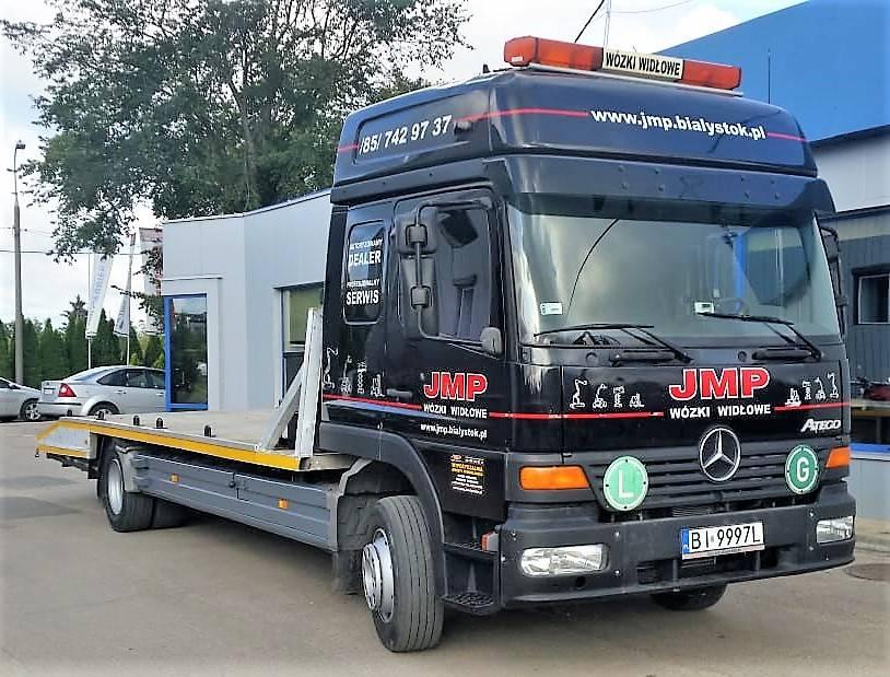 Mercedes-Benz ATEGO 1228, Pojazdy do transportu samochodów, Transport