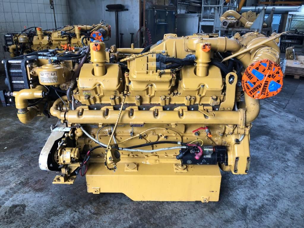 Caterpillar 3412 E - Marine Propulsion - 9PW, Marine Applications, Construction