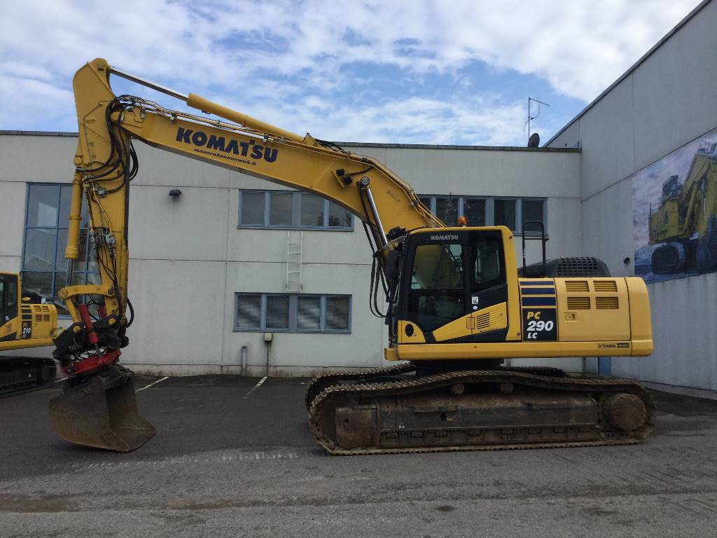 Komatsu PC290LC-10, Crawler Excavators, Construction Equipment