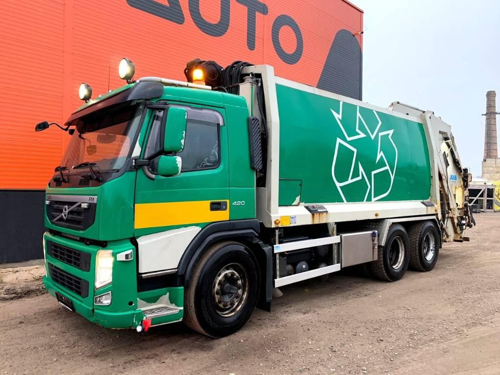 Volvo FM12 420 6x4 Joab + Low mileage, Garbage Trucks / Recycling Trucks, Trucks and Trailers