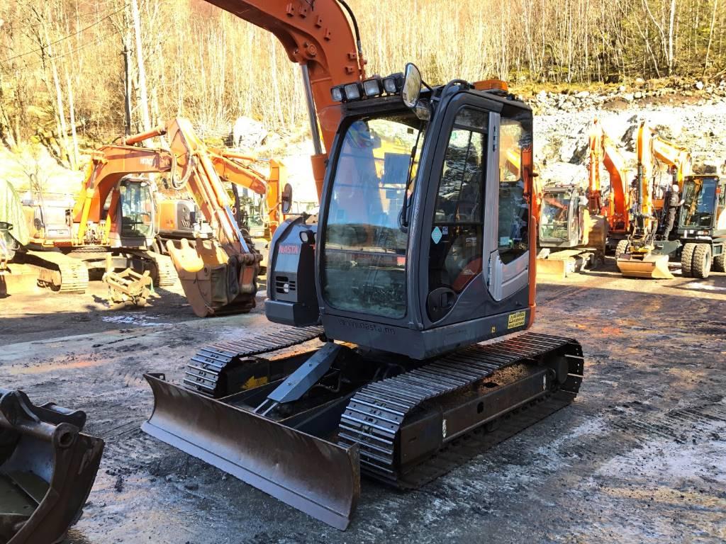 Hitachi ZX 85 US-3, Mini excavators  7t - 12t, Construction Equipment