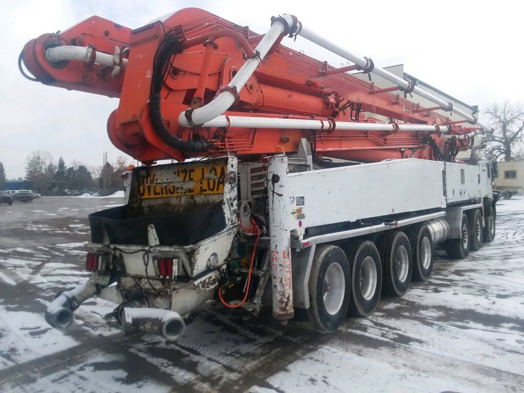 Schwing 2525H-6 61M, Boom Pumps, Construction Equipment
