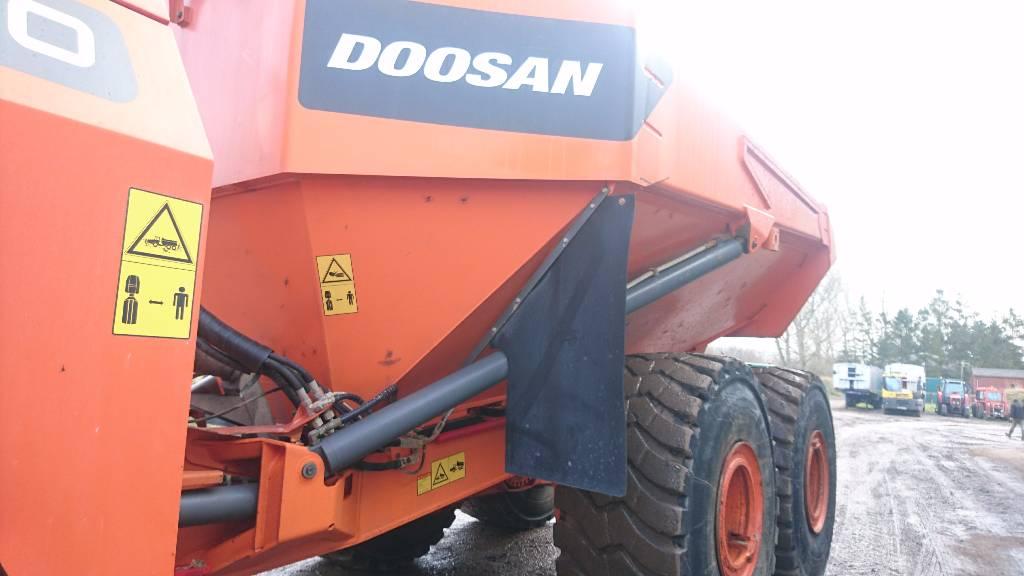 Doosan DA 40, Site dumpers, Construction