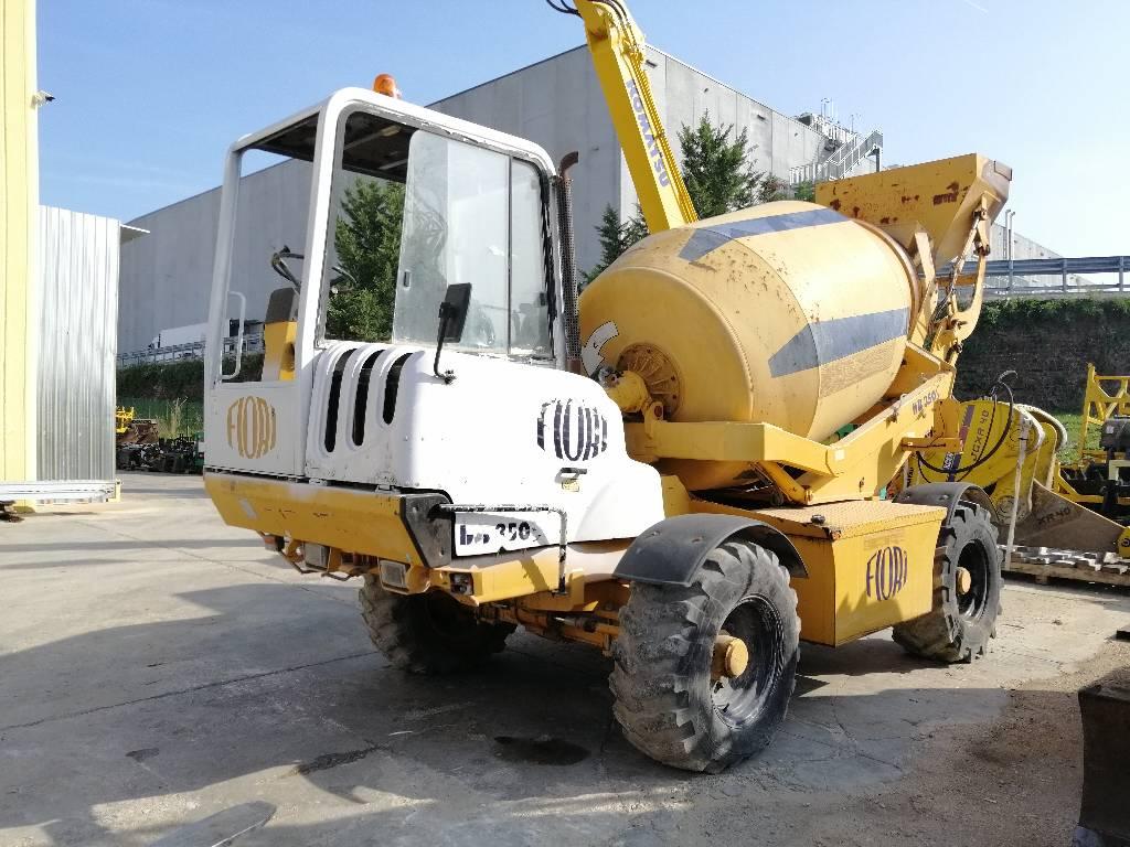 Fiori DB350, Concrete Mixers, Construction Equipment