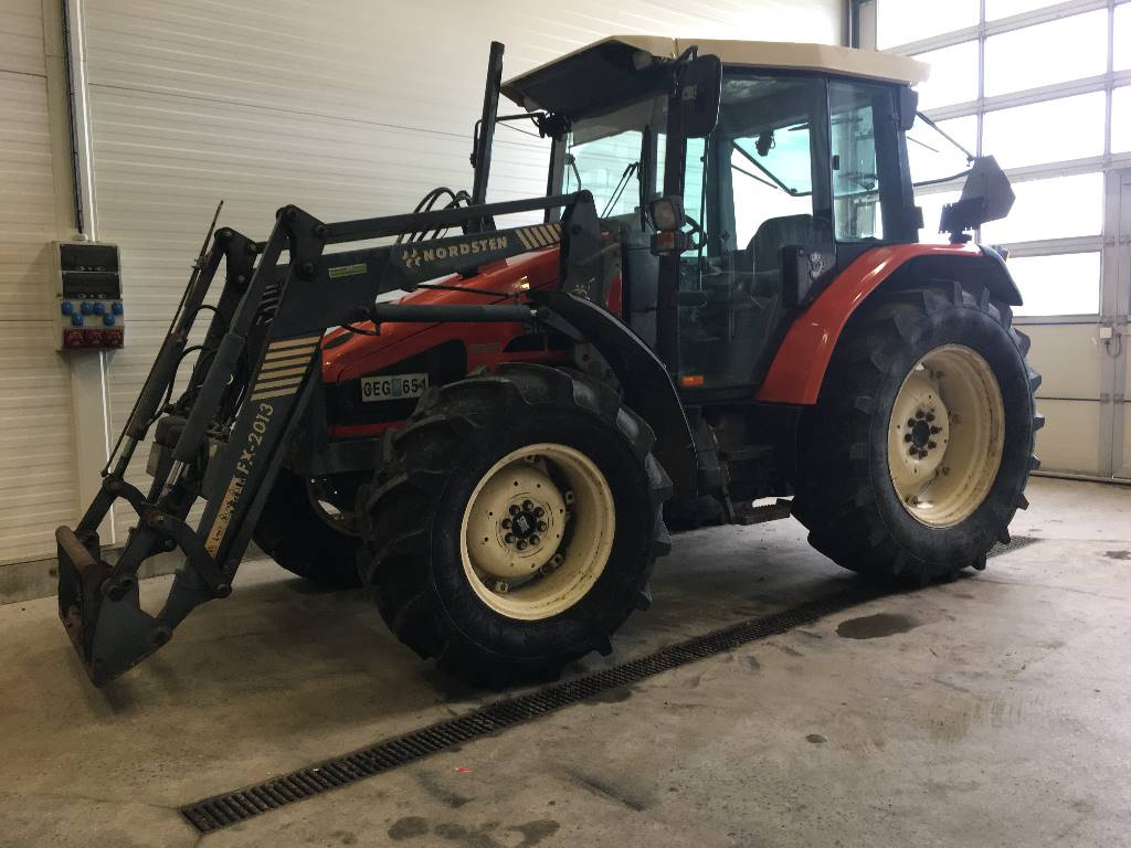 Same Silver 80 DT med Lastare, Traktorer, Lantbruk
