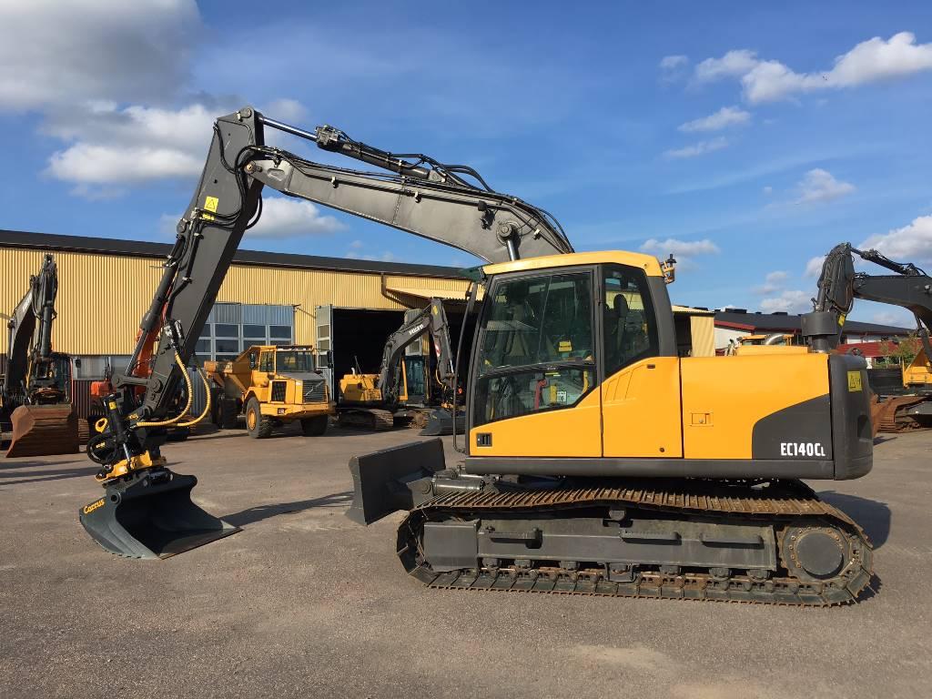 Volvo EC 140 C L, Crawler excavators, Construction