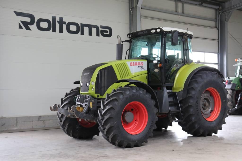 CLAAS Axion 840, Traktory, Maszyny rolnicze