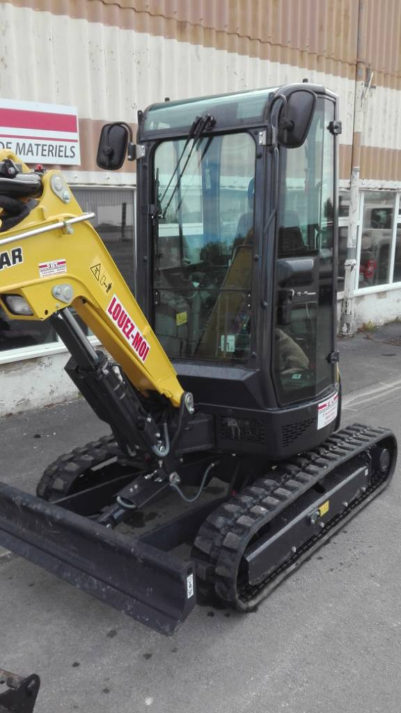 Yanmar VIO 25-4, Mini excavators < 7t (Mini diggers), Construction
