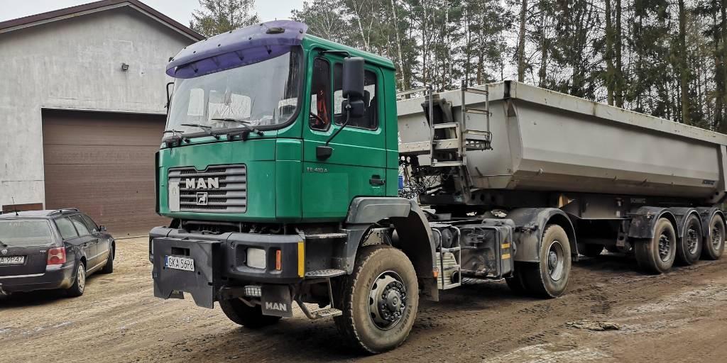 MAN FE410A 4x4, Ciągniki siodłowe, Transport