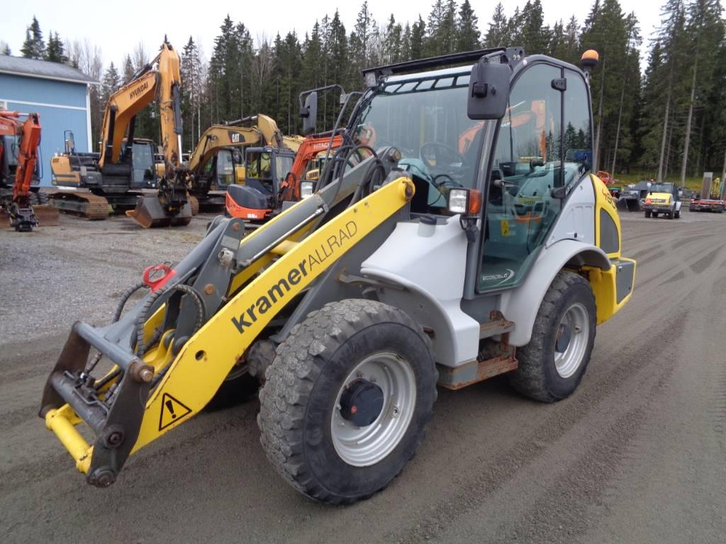 Kramer 480 Artic power, Pyöräkuormaajat, Maarakennus