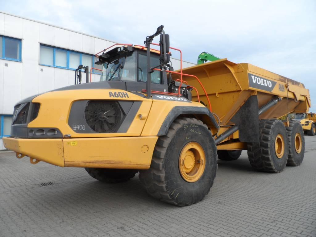Volvo A60H, Articulated Dump Trucks (ADTs), Construction Equipment