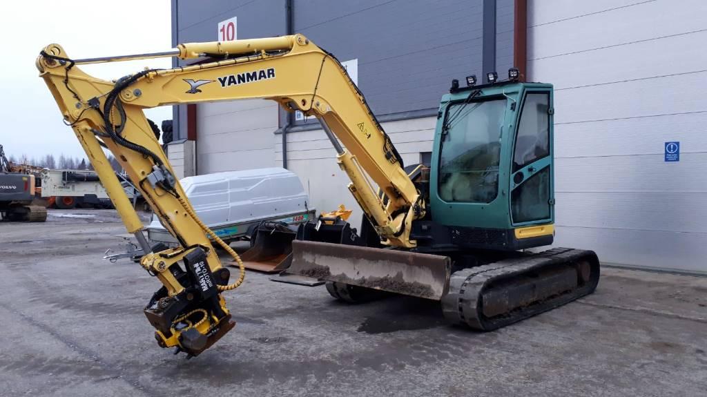 Yanmar Vio 80 U, Midi excavators  7t - 12t, Construction