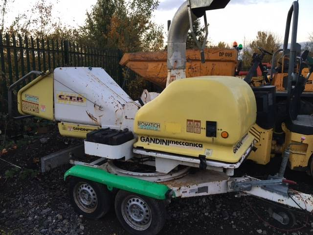 Gandini biomatich 85mts, Wood chippers, Forestry