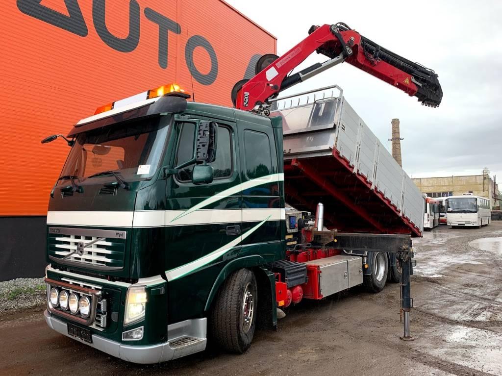 Volvo FH13 420 Tipper+HMF2420, Boom / Crane / Bucket Trucks, Trucks and Trailers