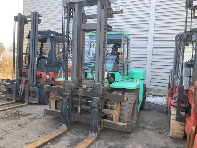 Mitsubishi FD100, Diesel Forklifts, Material Handling