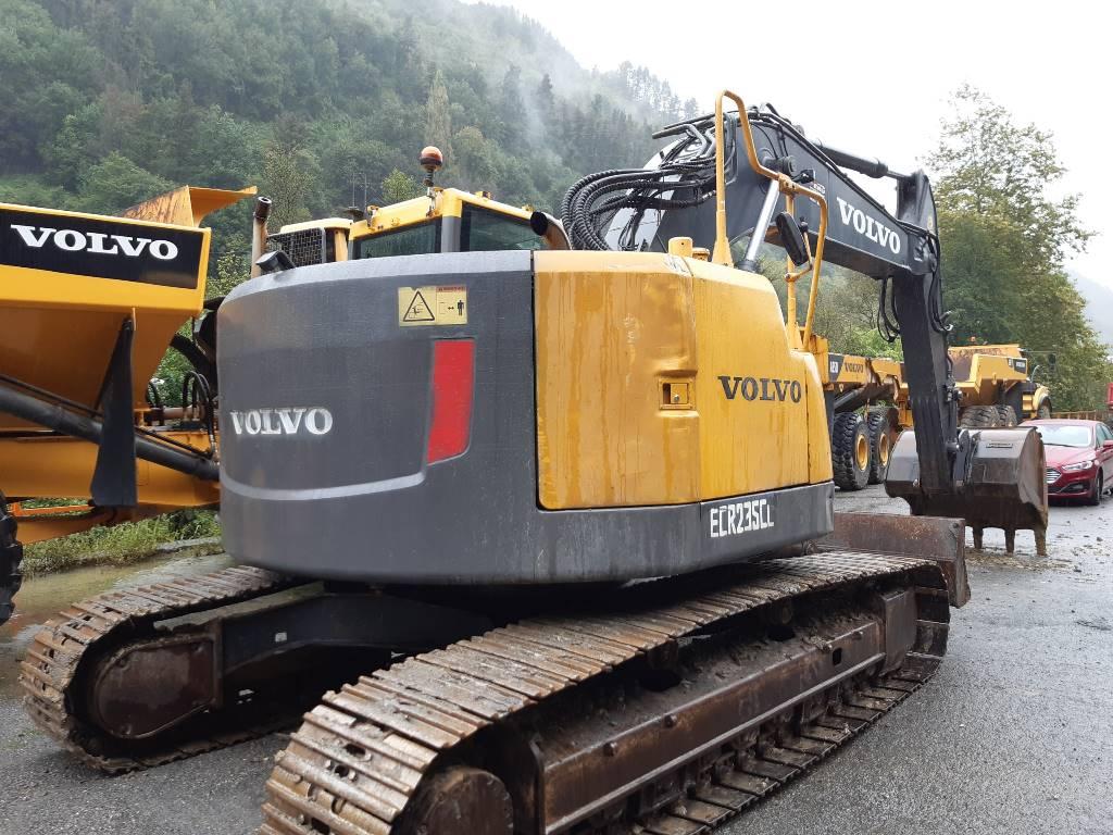 Volvo ECR 235 C L, Excavadoras de cadenas, Construcción