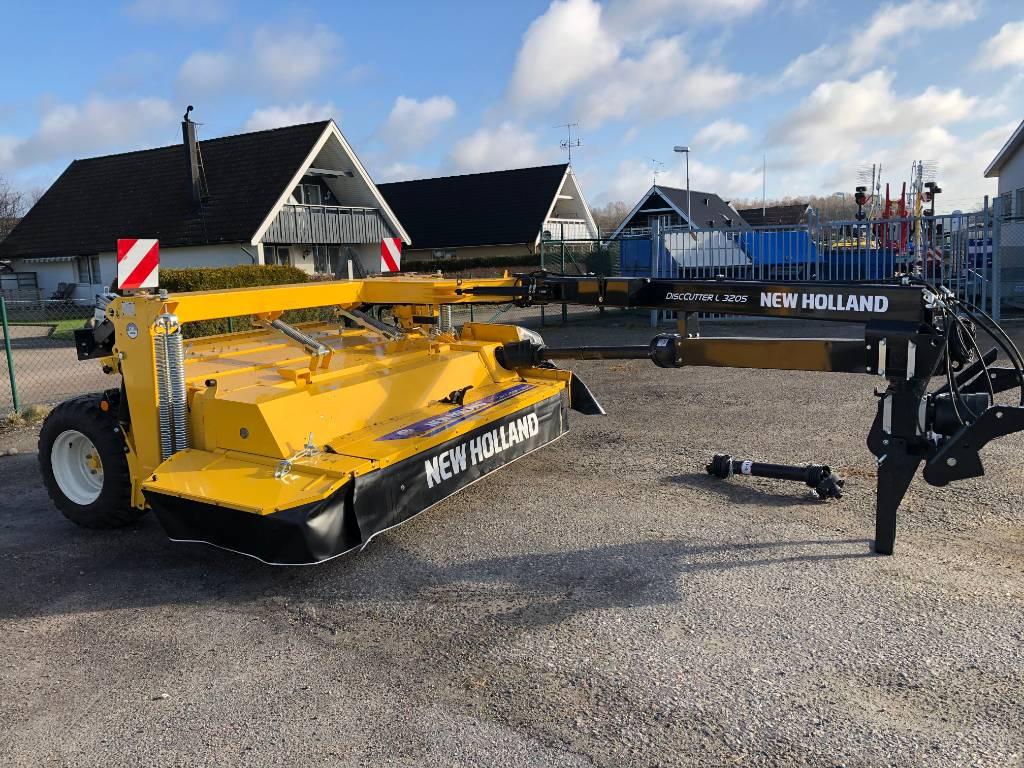 New Holland L 320s, Slåtterkrossar, Lantbruk