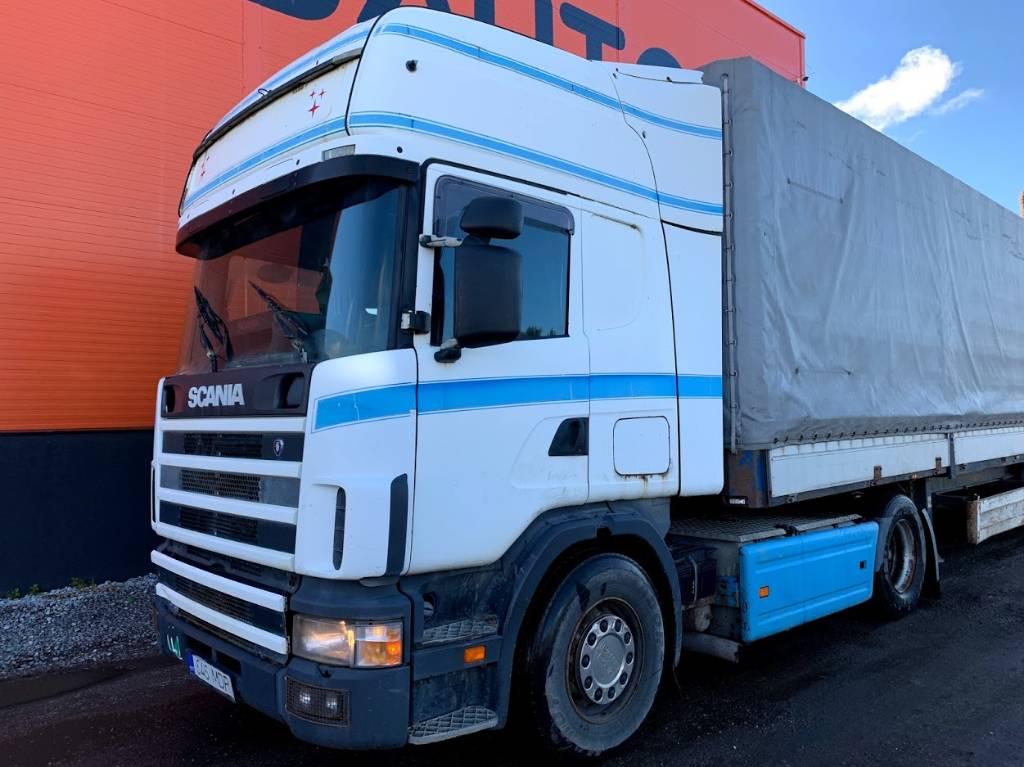 Scania 124 LA 420 4x2, Conventional Trucks / Tractor Trucks, Trucks and Trailers