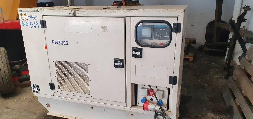 FG Wilson PH 30, Generadores diesel, Construcción
