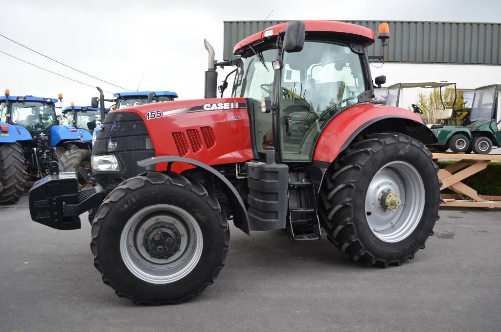 used case ih puma 155 tractors year 2010 price 41 722. Black Bedroom Furniture Sets. Home Design Ideas