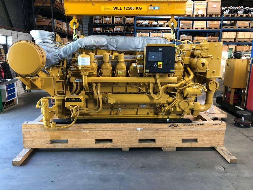 Caterpillar - Surplus - 3516 C HD - Marine Prop - 2240 kW - PXJ, Marine Applications, Construction