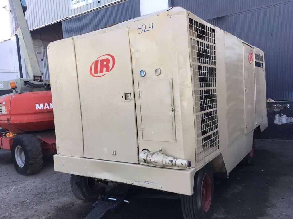 Ingersoll Rand XHP 900 WCAT, Compresores, Construcción