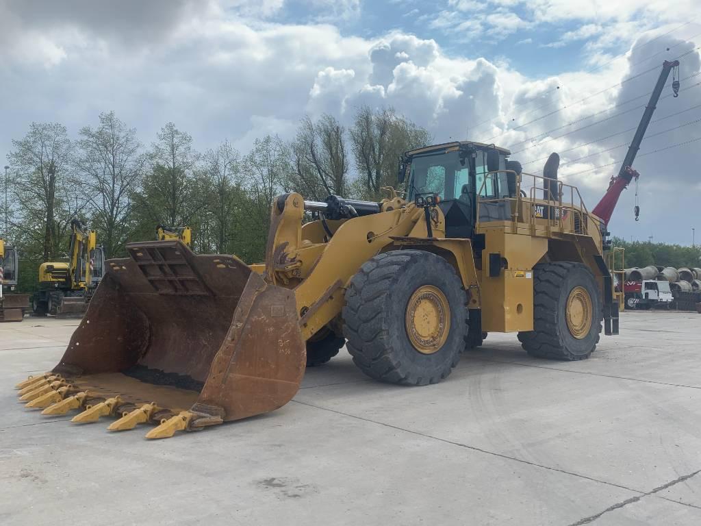 Caterpillar 988 K, Wheel loaders, Construction