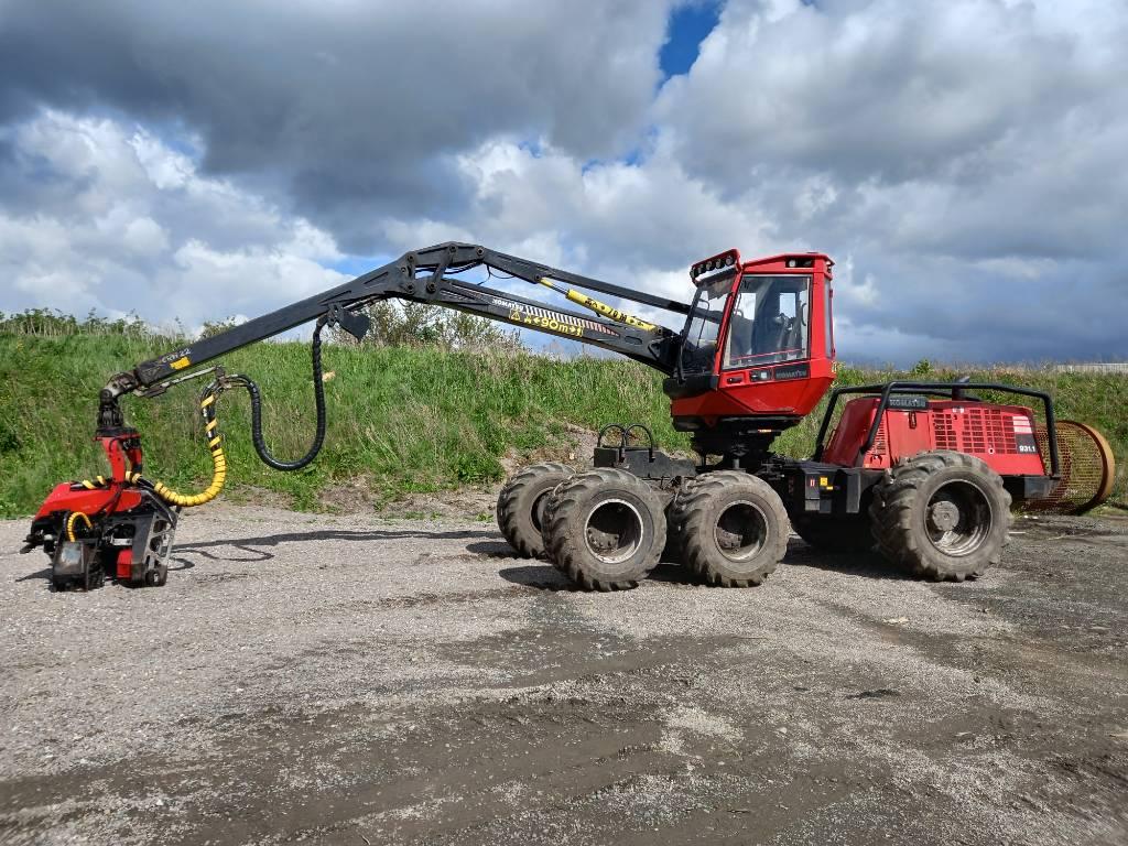 Komatsu 931.1, Harvesters, Forestry Equipment