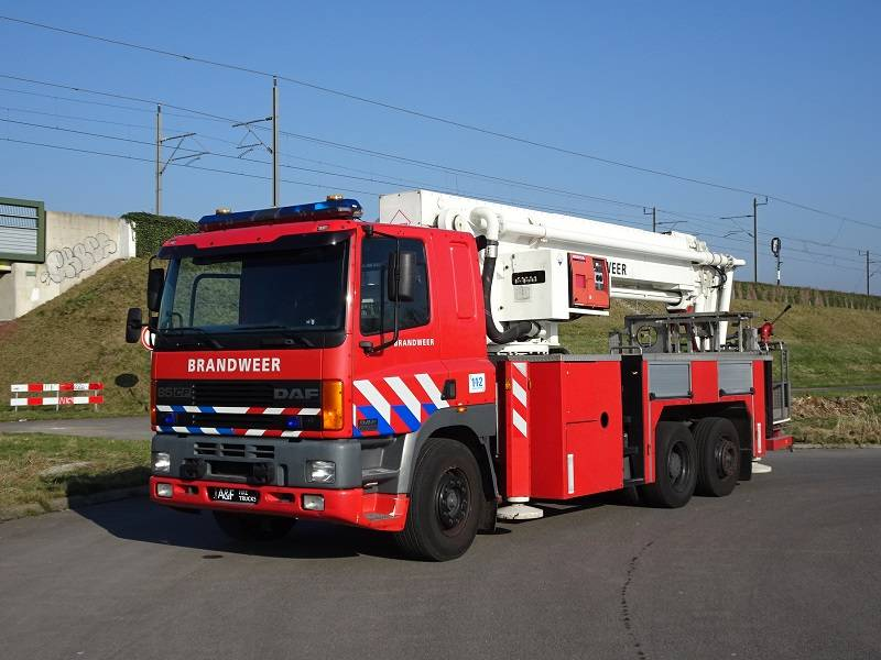 DAF 85 CF 380  Hilton, Fire trucks, Transportation