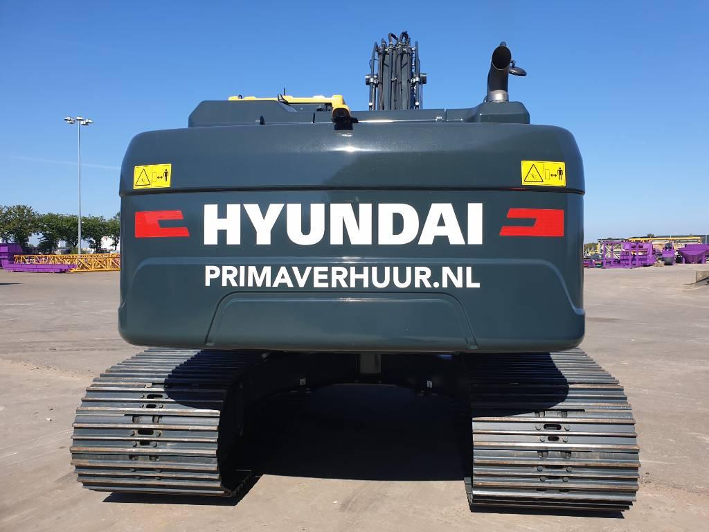 Hyundai HX 210 AL, Rupsgraafmachines, Bouw