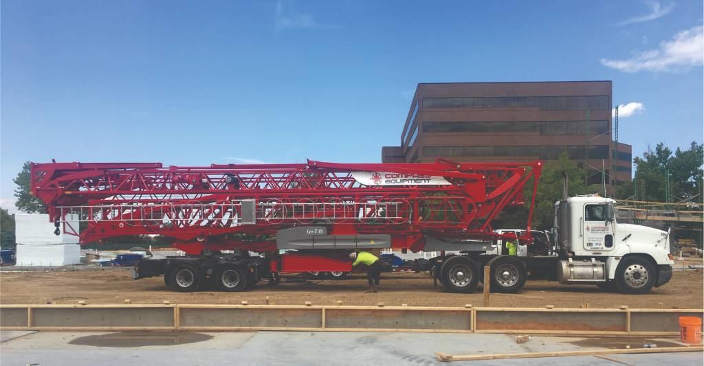 Potain IGO T 85 A, Tower Cranes, Construction Equipment