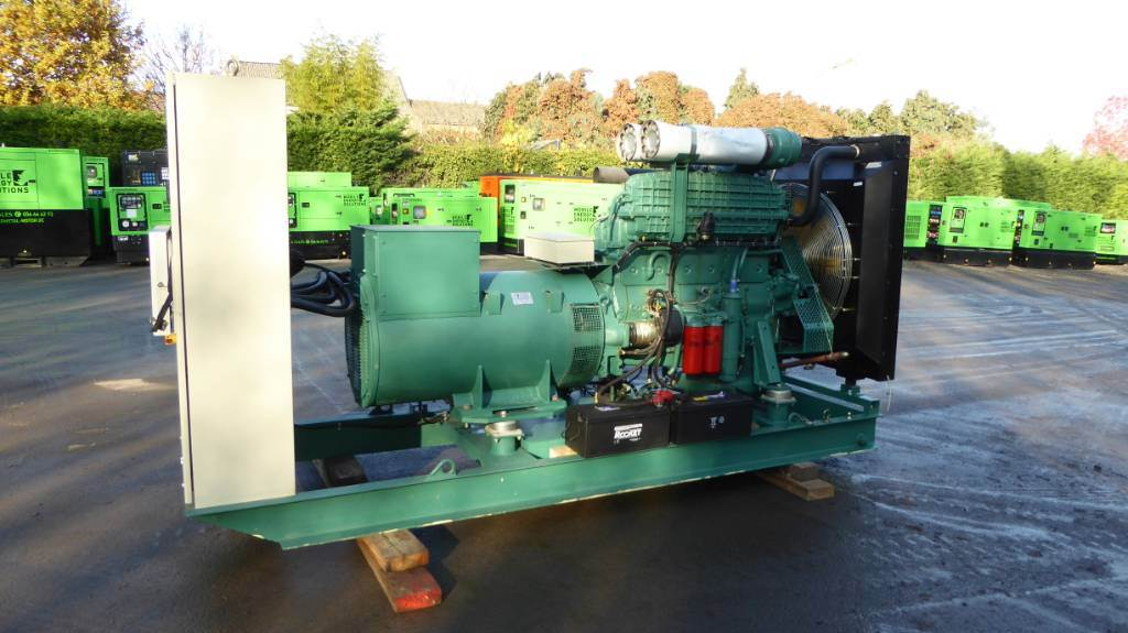 Volvo Penta 320 KVA, Diesel generatoren, Bouw