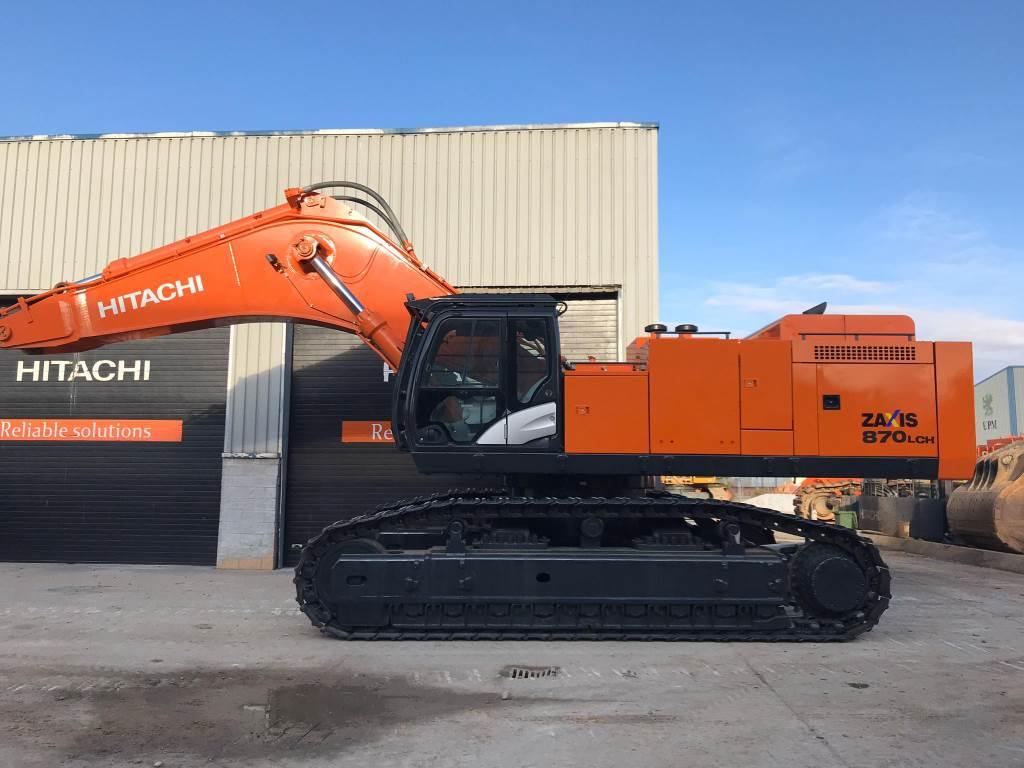 Hitachi ZX 870 LC H-5B, Crawler Excavators, Construction Equipment
