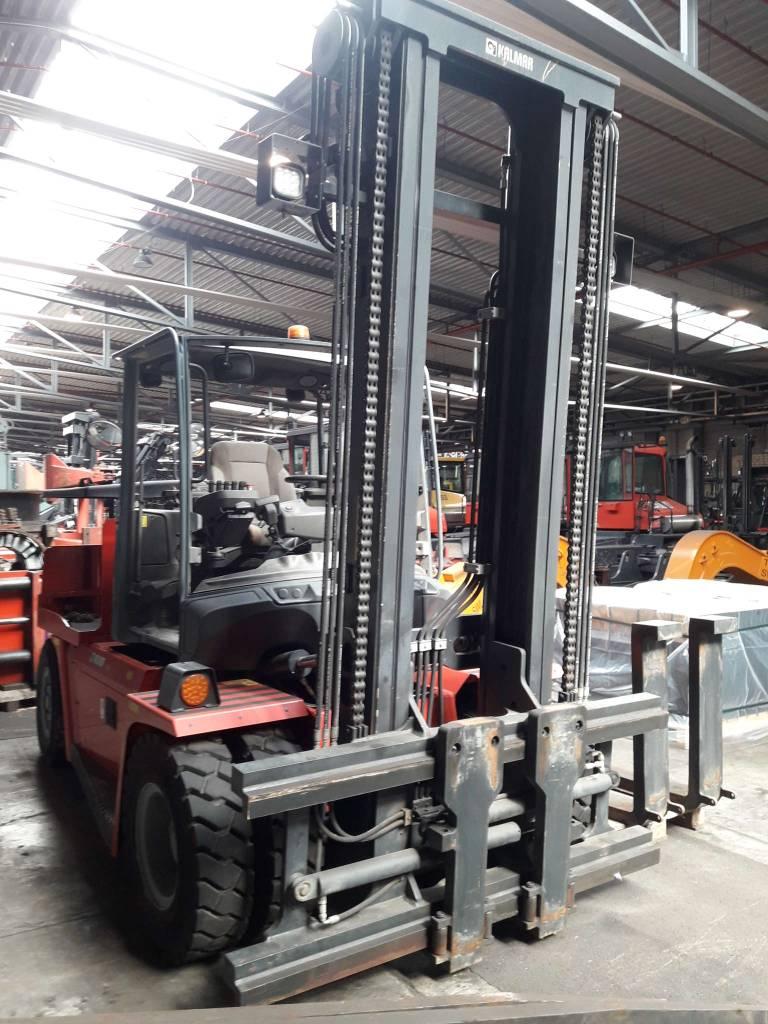 Kalmar ECG90-6LS, Electric forklift trucks, Material Handling