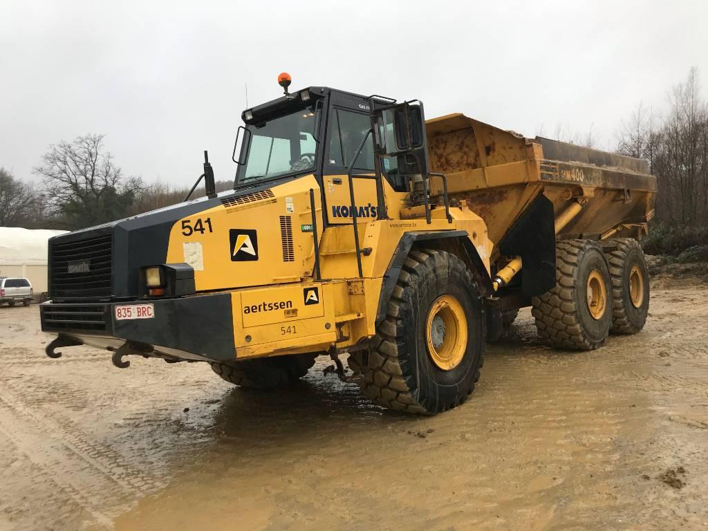 Komatsu HM 400-2, Articulated Dump Trucks (ADTs), Construction