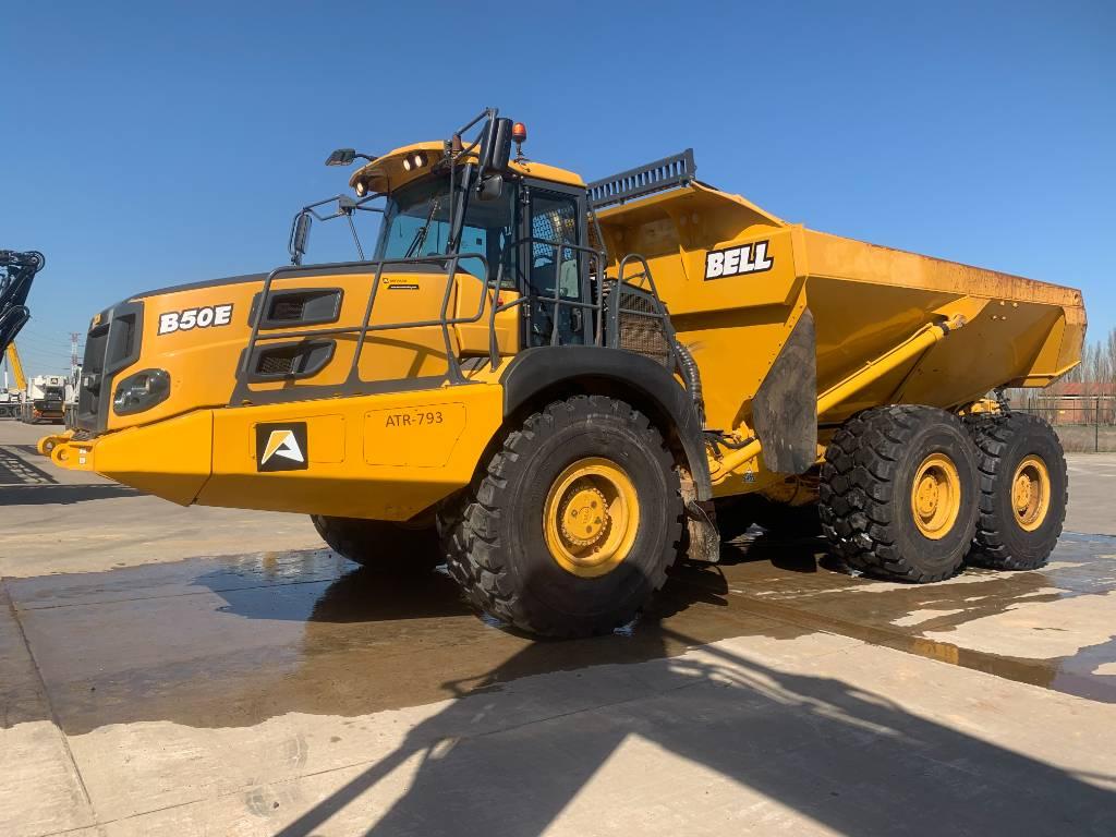 Bell B50E, Articulated Dump Trucks (ADTs), Construction