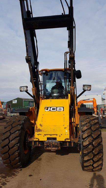 JCB 437 HT, Wheel loaders, Construction