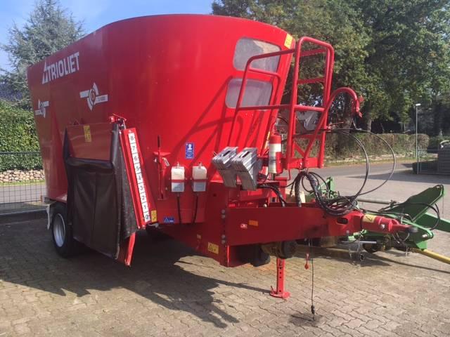 Trioliet Solomix 2 1600 ZK, Voermengwagens getrokken, Landbouw