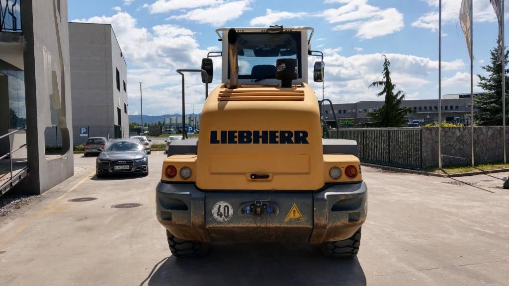 Liebherr L 524, Kolesni nakladalci, Gradbeništvo